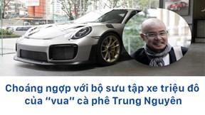 Bộ sưu tập xe triệu đô của 'vua cà phê' Trung Nguyên