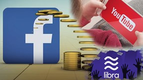 Facebook tham vọng tiền ảo, YouTube đang bị điều tra