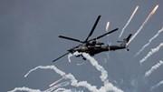 Xem trực thăng Nga phóng thử tên lửa tối tân bí mật