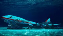 Bahrain nhấn chìm cả chiếc Boeing 747 để làm du lịch