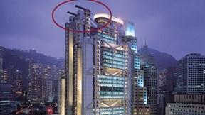 Đặt 'đại bác' lên nóc nhà và chuyện xây dựng theo phong thủy ở Hong Kong