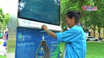 Bất ngờ cây lọc nước trí tuệ nhân tạo đầu tiên ở Hà Nội