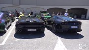 Chiêm ngưỡng dàn siêu xe gần 70 chiếc bị cảnh sát thu giữ