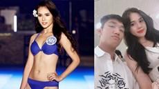 Bạn gái Trọng Đại U23 thay đổi thế nào qua 6 lần thi Hoa hậu?