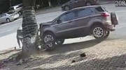 'Xe điên' gây tai nạn liên hoàn ở Thái Nguyên