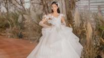 Hoàng Thùy hóa cô dâu đẹp ngỡ ngàng