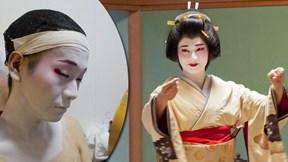 Cuộc sống muôn vàn nhọc nhằn của nam Geisha duy nhất tại Nhật Bản