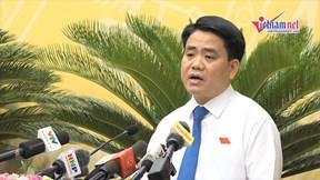 Ông Nguyễn Đức Chung: Nước sông Tô Lịch 'đứng' sẽ làm sạch được ngay