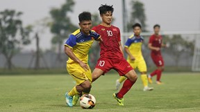 U23 Việt Nam 1- 0 U18 Việt Nam: Những pha bóng tốc độ