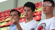 Đình Trọng, Hồng Duy chấn thương vẫn đến cổ vũ U22 Việt Nam đấu U18