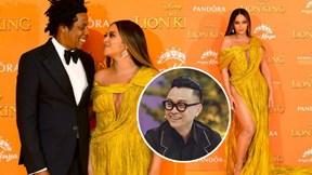 Beyonce diện váy xẻ táo bạo của Công Trí ra mắt 'Vua sư tử'