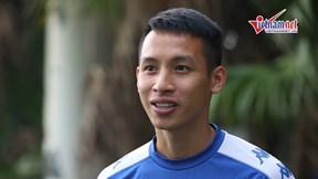 Trước trận gặp HAGL, Hùng Dũng lo về 'dớp' thua đội cuối bảng của Hà Nội