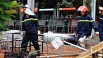 Cháy 3 căn biệt thự liền kề ở Hà Nội, 6 người nhảy ra ngoài thoát thân