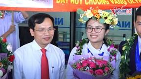 Nữ sinh Việt đoạt HCV và giải đặc biệt ở Olympic Vật lý quốc tế
