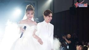 Thu Thủy song ca 'Yes I do' cùng chồng kém 10 tuổi trong lễ cưới