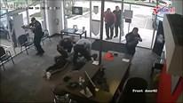Cảnh sát Mỹ tóm gọn băng cướp như trong phim