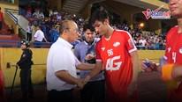 HLV Park tới 'xem giò' Viettel, chúc mừng 'siêu phẩm' của Trọng Đại