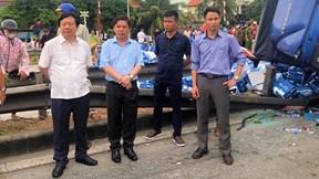 Kim Thành, Hải Dương: 2 vụ tai nạn làm 8 người thương vong
