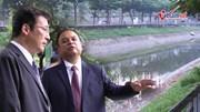 Xả nước hồ Tây vào sông Tô Lịch: Chuyên gia Nhật không đổ lỗi cho ai