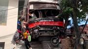 Quảng Ninh: Xe khách tông hàng loạt xe máy, 5 người thương vong