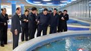 Nhà hàng hải sản siêu to ở Triều Tiên, đích thân ông Kim đến dùng bữa