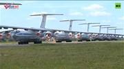 Nga điều hàng loạt máy bay vận tải quân sự tham gia chữa cháy rừng