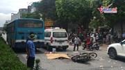 Hà Nội: Va vào xe buýt, người đàn ông bị cán tử vong