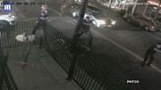 Khoảnh khắc cảnh sát Mỹ bắn hạ kẻ xả súng trước khi hắn lao vào quán bar