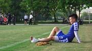Quang Hải dính chấn thương, buộc phải rời sân tập trước chung kết AFC Cup