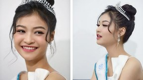 Á hậu Kiều Loan tiết lộ 'sư phụ' dạy ứng xử đạt giải cao thi Hoa hậu