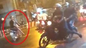 Hai nhóm giang hồ chém nhau gây não loạn trung tâm Sài Gòn