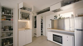 Khám phá căn hộ 24m2 đẹp và đủ tiện nghi nhờ quy tắc 5S của Nhật Bản