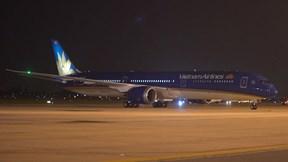 Siêu máy bay Boeing 787 Việt Nam đặt mua về đến Nội Bài