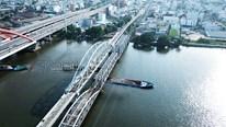 Ngắm cầu đường sắt 117 năm tuổi ở Sài Gòn trước ngày phá bỏ