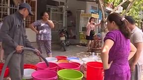 Sông Cầu Đỏ nhiễm mặn, dân Đà Nẵng lao đao tìm nước sinh hoạt
