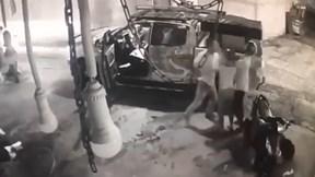 Tài xế rút dao đâm người lái xe máy chỉ vì va quệt nhẹ