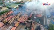 Cháy nhà máy Rạng Đông: Tan hoang nhà kho hơn 2ha