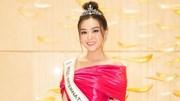 Á hậu Tường San đại diện Việt Nam thi Hoa Hậu quốc tế 2019