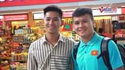 HLV Park và học trò vui vẻ bay sang Thái Lan đá vòng loại World Cup 2022