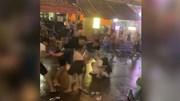 Hai nhóm người hỗn chiến kinh hoàng ở phố Tây Sài Gòn