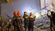 250 m2 nhà xưởng ở Hà Nội cháy rừng rực trong ngày nghỉ