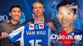 Sau khi gây sốt ở Heerenveen, Văn Hậu về chuẩn bị đấu Thái Lan