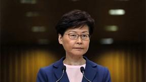 Trưởng đặc khu Hong Kong nói về nỗi buồn riêng tư trong cuộc gặp kín