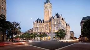 Bên trong khách sạn 200 triệu USD xa hoa và lộng lẫy của Tổng thống Trump