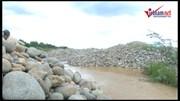 Ninh Thuận: Ngừng khai thác cát trên sông Dinh mùa mưa lũ cận kề