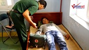 Ninh Thuận trục vớt 7 ngư dân trôi dạt trên biển
