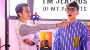 Huy Cung 'cướp vợ' của Cris Phan trong MV đầu tay