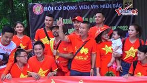 CĐV Việt quyết 'biến' Thammasat thành Mỹ Đình, hừng hực tiếp lửa tuyển VN