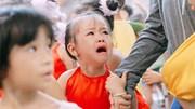 Muôn vàn biểu cảm hài hước của trẻ ngày khai giảng