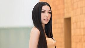 Á hậu Thúy Vân: Tôi muốn chinh phục vương miện Hoa hậu Hoàn vũ VN